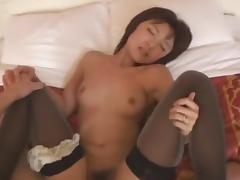 Horny Japanese slut Miyu Nishiura, Waka Izima, Yua Sasaki in Incredible POV, Stockings JAV clip