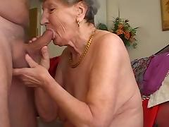 Grandmother, Blowjob, Granny, Mature, Old, Penis