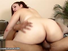 Sonia Blaze & Dick James in Hot Bush For Hard Black Cock  - MMM100
