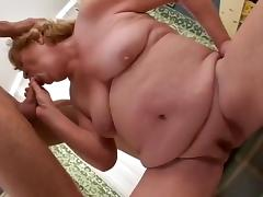Crazy Homemade record with BBW, Blonde scenes
