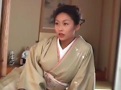 Crazy Japanese chick Riho Yanase in Amazing Wife JAV scene