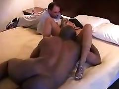 Hot mistress cuckold interracial and cumshot