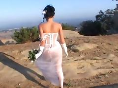 Bride, Anal, Bride, Double, Skinny, Wedding
