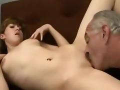 Horny Homemade movie with Small Tits, Young/Old scenes