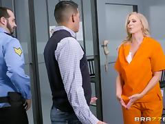 Julia Ann is a nasty inmate ready for an erected pleasure rod