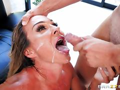 Chesty Aubrey Black having her pussy sucked and penetrated