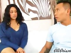 Ambw London Reigns Interracial With Asian Guy asian cumshots asian swallow japanese chinese