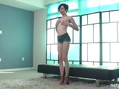 Cadey throbbed hardcore doggystyle with long dick in pov