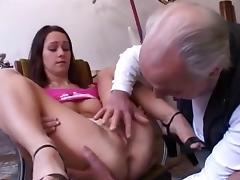 Best amateur Brunette, Young/Old adult clip