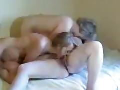 Crazy Amateur record with Lesbian, Mature scenes