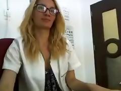 Masturbating on camera