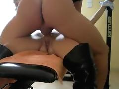 Fabulous Homemade video with Blonde, Shaved scenes