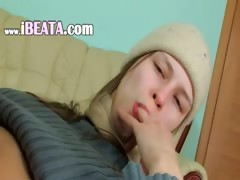 Free Beata germanian girl in warm outfit