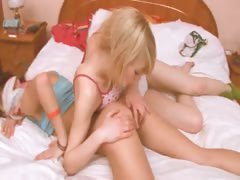 german girl getting kinky with girl