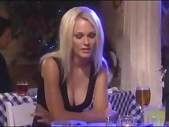 Bar, Babe, Bar, Blonde, Cum, Cumshot