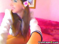 Webcam cuttie lovely masturbation