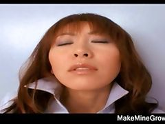 Hot Asian Babe Fucked On Her Hairy Pussy