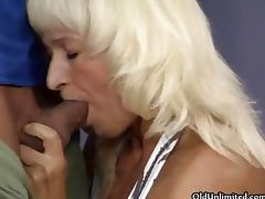 Nasty blonde housewife gets horny part1 porn video