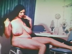 Plump Girl is a Skillful and Sexy Stripper 1960 porn video