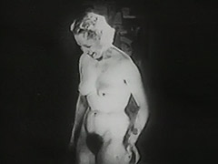 Undressing Blonde gets Watched by Peeping Tom 1940 porn video