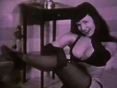 Smooth Sexy Dance in the Dark 1950 porn video