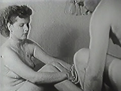 Hairy Boy Penetrating His New Friend 1950 porn video