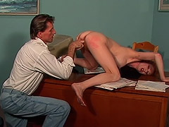 Anal Vaginal and Deepthroat Hardcore Action in this Hairy Cunt Redhead Woman Hardcore Film