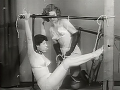 Lonely Babes Love Fetish Games 1950 porn video