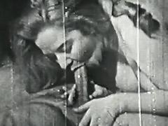 1940, BBW, Blowjob, Classic, Hairy, Hardcore