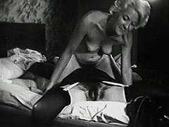 1940, Babe, Blonde, Brunette, Classic, Fetish