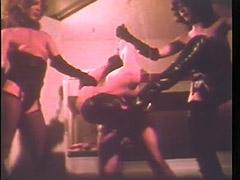 Two Mistresses Enjoy Having a Male Slave 1970