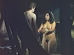Curious Boy Found a Naked Sleeping Beauty 1970 porn video