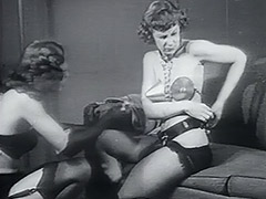 1950, Babe, Blonde, Blowjob, Brunette, Classic
