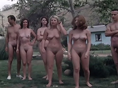Naked Swingers Have Fun at Nudist Resort 1960 porn video