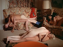 Stunning Women Fucked in the Desert 1970 porn video