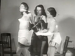 Naughty Babe is Punished Hard 1950