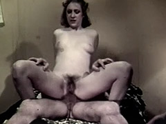 Crazy Stepfather Loves Anal Sex 1960 porn video