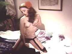 Schoolgirl Enjoys Playing with Her Sex Toy 1970 porn video