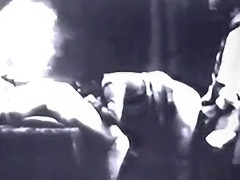 Old School Threesome with Blowjobs 1940 porn video