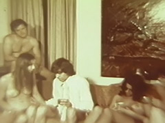 Ordinary Evening Turns in a Fervent Orgy 1960 porn video