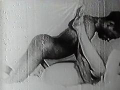 1940, Big Cock, Blowjob, Classic, Ebony, Hairy