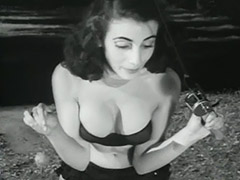 Sexy Babes Posing and Relaxing 1950 porn video