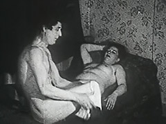Fat Hooker Fucked by a Thief 1950 porn video