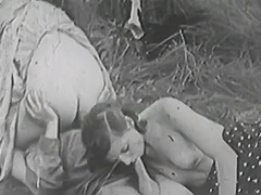 Rough Sex in Green Meadow 1930 porn video
