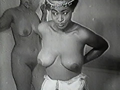 Erotic African Dancers get Naughty 1940 porn video