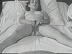 Chick Dreaming of Amazing Fucking in Bed 1950 porn video