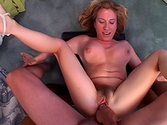 British Babe MILF's Massive Hairy Pussy is Blatantly Exploited by a Fuck Hungry Guy