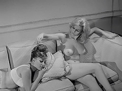 Two Girls Showing some Goodies 1960