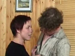 Russian Mature And Boy porn video