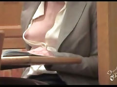 exhibitionism style braless and see through porn video